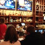 Full bar with a variety of selections