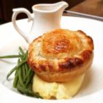 Home made pies with seasonal ingredients