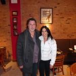 ROSARIO CASSATA AND CAROLYN AT THE CHOCOLATE ROOM, BROOKLYN, NY.