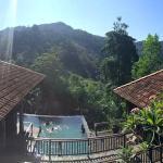 The view from Villa Kemobja