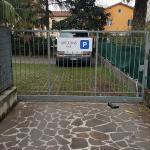 Ingresso parcheggio privato