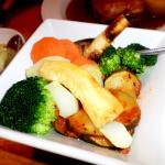 Nicey cooked veg