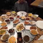 De rijsttafel voor 4 personen