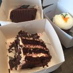 black forest, chic and carrot cakes