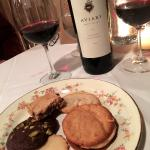 Cookie Plate was a fun dessert, esp. coupled w/ Cabernet