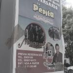 poster special event live entertainment la petitia restaurante puerto morelos