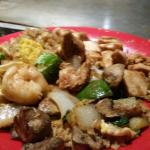 Shrimp & chicken hibachi