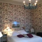 Very romantic room resign! I was surprised it was not so modern at the first sight but I have to