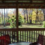 Creek house porch