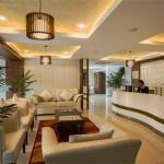 Hotel Lobby and Reception Area