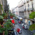 via Umberto from Balcony towards via Etna
