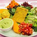 Une de nos assiettes Detox Vegetalienne