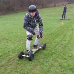 Mountain boarding at Weobley