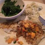 Chilean Sea Bass with Mango Salsa