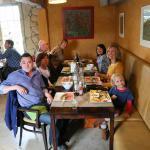 Gezellig lunchen met familie en vrienden