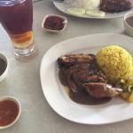 Nasi Ayam Special Kak Nong... It's delicious and different from other Nasi Ayam..