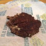 Quaker Steak & Lube Ghost Pepper burger - patty was as small as McDonalds