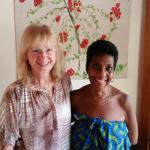 Kathy & Regina, our most gracious hostess.