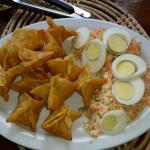Salt fish wontons - unbelievably good!