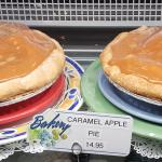 Caramel apple pie!