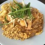 Pad Thai and mussaman.  Delicious!