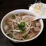 Steak and Meatball Pho