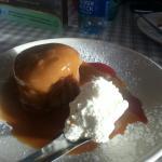 sticky toffee pudding...