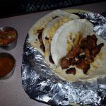 Tacos al pastor was very good