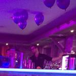 Bar of the Lounge Taittinger sponsored evening with Dj judge Jules