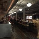 Beautiful restored factory building-now Journeyman Distillery and Staymaker Restaurant