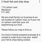 Make sure your at the right Cfresh on lytham road