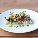 Try our APT8 exhibition special of Atlantic salmon tataki, soba noodle salad, pickled daikon, sp