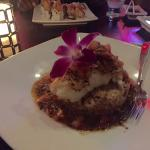 The Chilean Sea Bass was astounding!