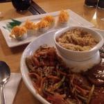 Sushi / Plato peruano