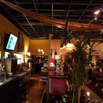 full bar area