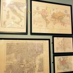 Maps from the Edward Stanford Cartographic Collection in Stanfords Coffee House