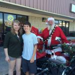 Santa at FriendlyToast 2015