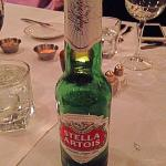 Stella Artois - classy beer in bottles at POSH