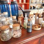 A sample of the natural herbs and remedies