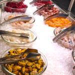Exotisches Fleisch, Fisch und Meeresfrüchte