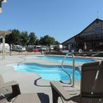 Enjoy our new pool and hot tub!