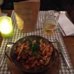 Lemonpan chicken and vegetables