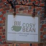 Cosy Bean sign