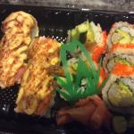 Dynamite roll and house special Ben roll
