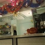 La salle... décoration typique 👌👍 accueil chaleureux service rapide