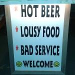 welcome sign :)