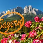 Bayern mit Berg