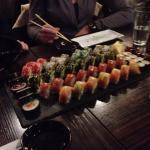 Superlækker sushi