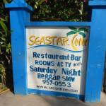 Foto de Seastar Inn Restaurant