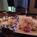 The shrimp Tacos & Chicken Tacos